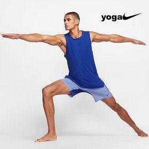 Nike Yoga Dri-FIT Training Tank Top - Blue